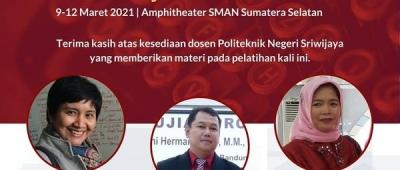 Pengabdian Masyarakat Dosen Politeknik Negeri Sriwijaya di SMAN Sumatera Selatan