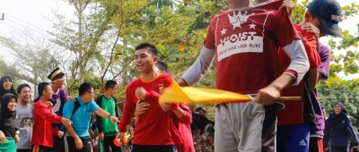 LOMBA TRADISIONAL SAMBUT UPACARA PERINGATAN INDONESIA MERDEKA