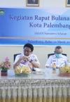 Mekanisme Ujian Satuan Pendidikan (USP) dan Sosialisasi Mekanisme PPDB 2021 dalam Rapat Bulanan MKKS Kota Palembang di SMAN Sumatera Selatan